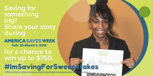 I'm Saving Sweepstakes